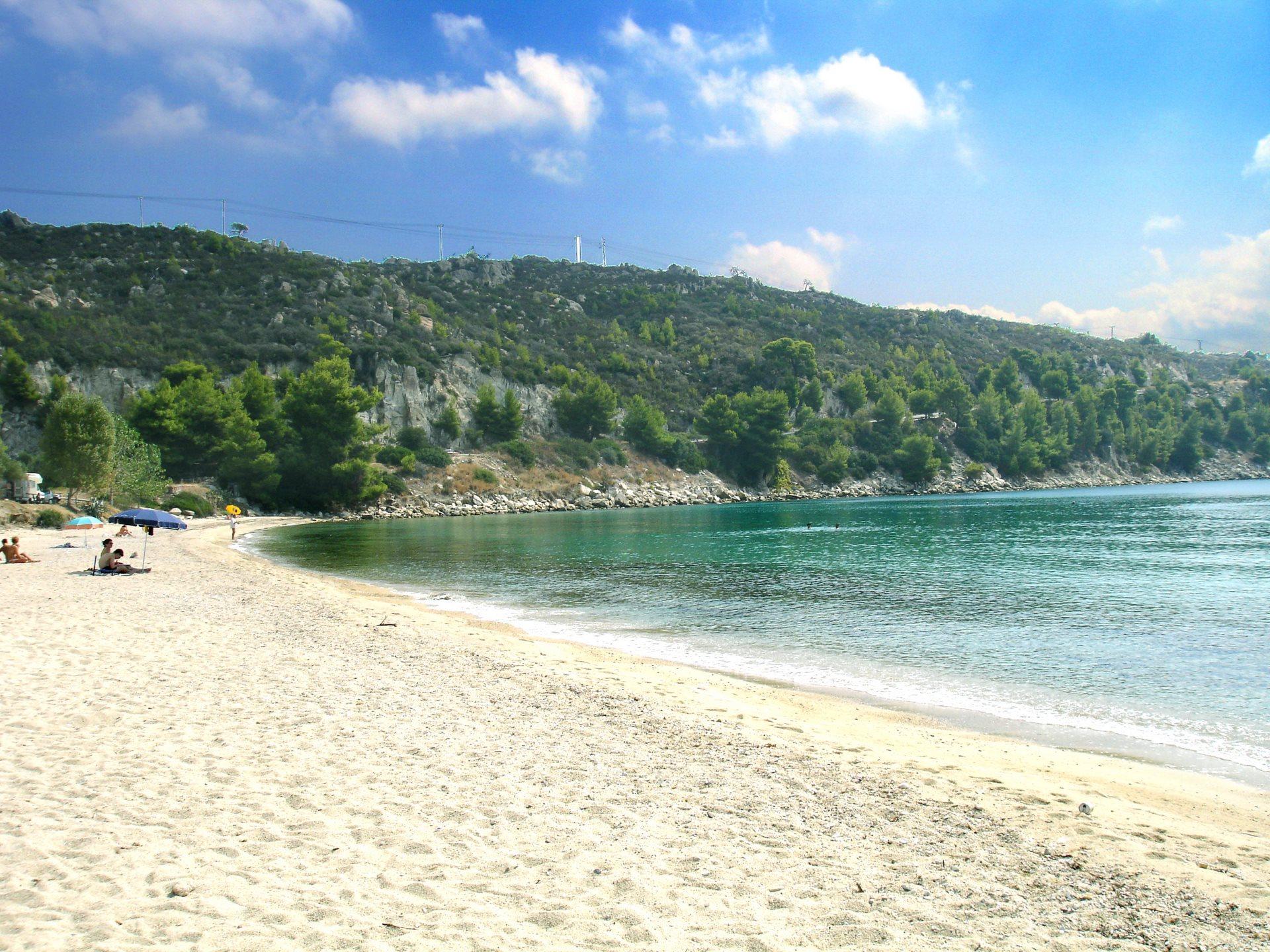 Η παραλία του Νέου Μαρμαρά